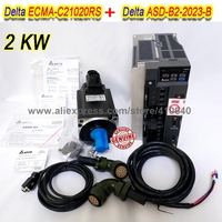 Set Sales Delta 2000 W Servo Motor ECMA C21020RS And Servo Drive ASD B2 2023 B with Cable with 5000 rpm Better Quality