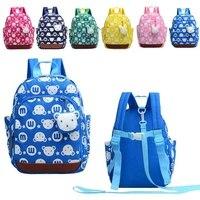 6 ألوان الأطفال المدرسية جديد الطفل المشي حزام الطفل طفل أطفال حقيبة لمكافحة خسر طفل يسخر والمقاود