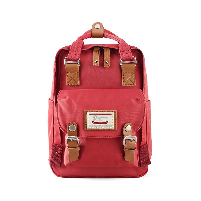2019 New Fashion Nylon waterproof Kanken Mini Backpack Travel Bag Women Large famous brand Bags School Bags For Girls Mochila
