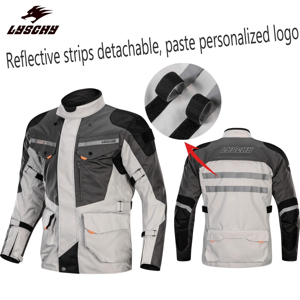 CE Protector Pads Motor Racing Team Motorcycle Jackets Brand DIY Group Jacket Cross Country Sets Rally