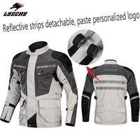 CE протектор колодки двигатель гоночная команда мото куртки бренд DIY Группа куртка беговые наборы ралли рыцарь Броня комплект одежды