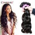 Cynosure cabelo onda do corpo malaio virgem negócio pacote cabelo 7a não transformados virgin malaio do cabelo humano weave bundles