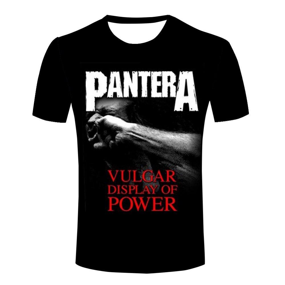 PANTERA COWBOYS FROM HELL Lady Black T-shirt Rock Woman V-neck Rock Band Shirt