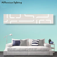 Moderne minimalistische LED bad licht 42 CM/14 Watt 52 CM/16 Watt AC110-220V Acryl wandleuchte kreative gang bedlamp