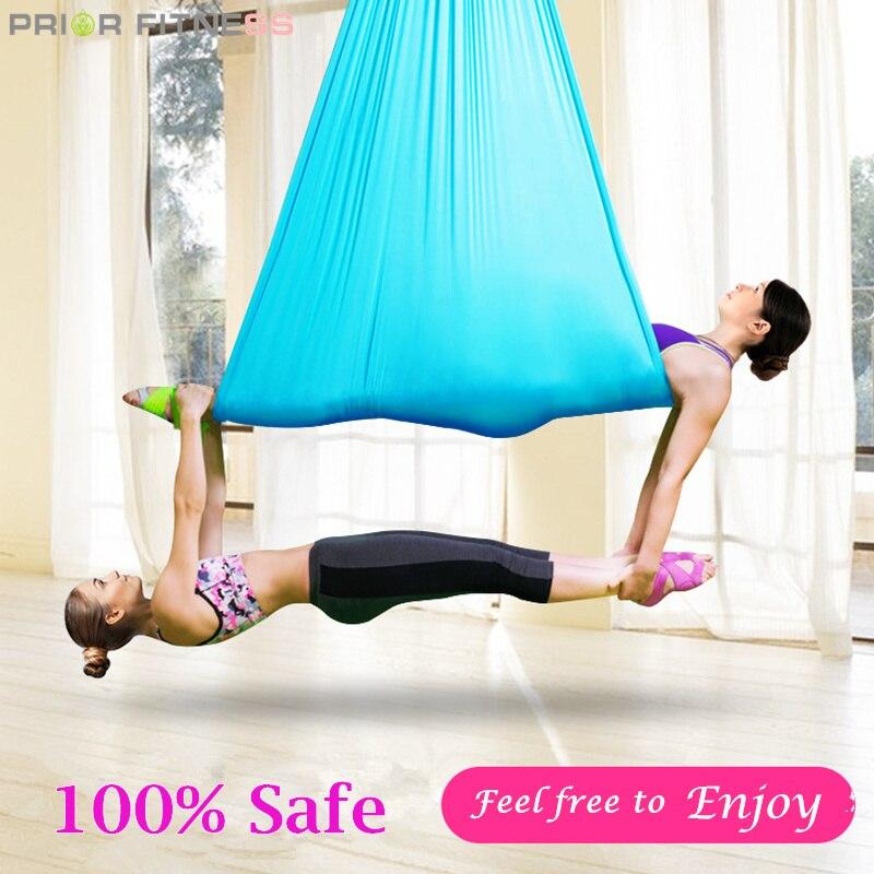 2020 Hot High Styrke Aerial Yoga Hammock 5meters High Quality 23 - Fitness og kroppsbygging - Bilde 4