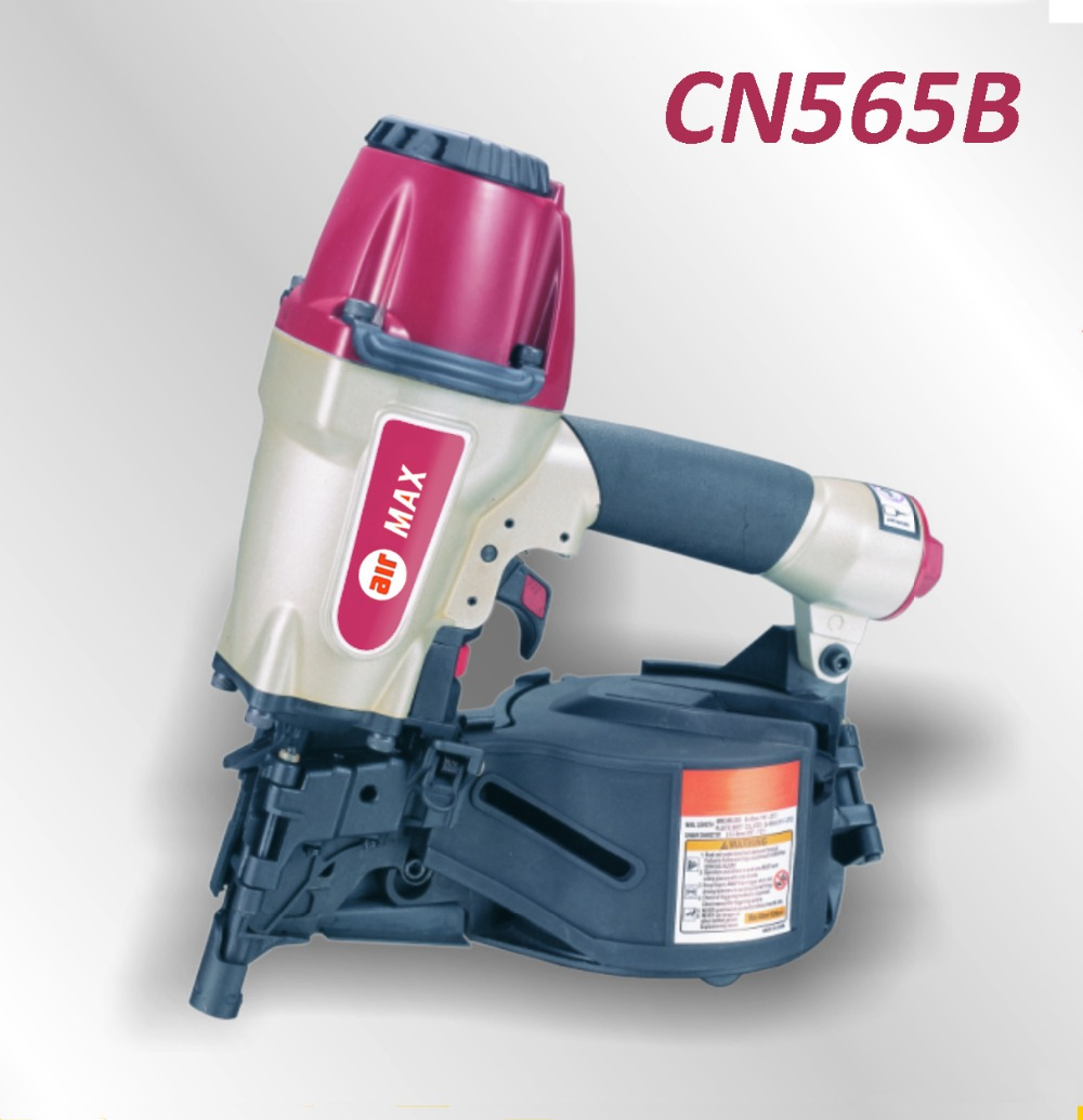 Pneumatic Construction Coil Nailer Gun CN565B for plastic sheet collated nailsnailer guncoil nailerpneumatic nailer gun -