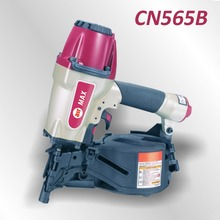 Pneumatic Construction Coil Nailer Gun CN565B for plastic sheet collated nails