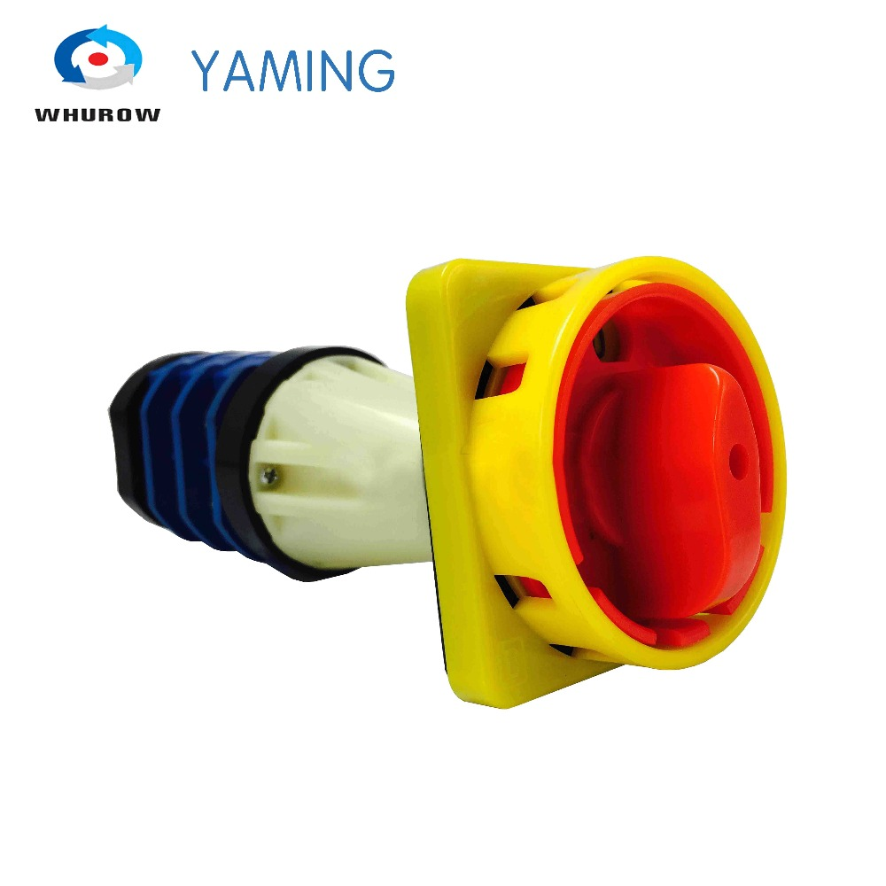 цена на YMZ12A-32/02 power cut off switch 2 position (0-1) 3 phases 380V emergency stop padlock motor rotary cam changeover switch
