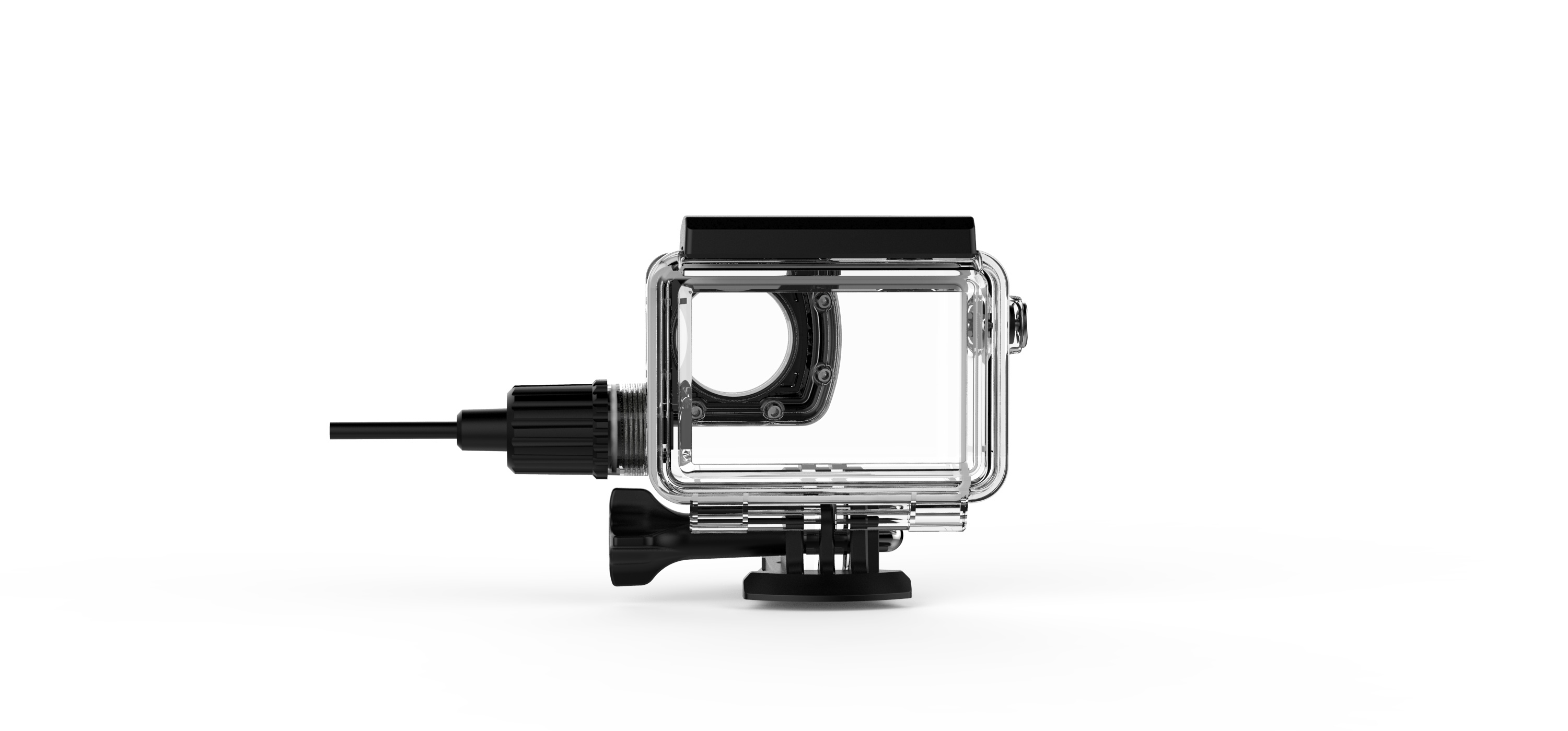 Image 3 - SJCAM SJ8 Series Motorcycle Waterproof Case with USB C Cable for SJ8 Pro SJ8 Plus SJ8 Air 4K Action Camera Accessories-in Sports Camcorder Cases from Consumer Electronics
