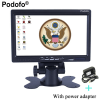 Mini Computer TV Display CCTV Security Surveillance 7 LCD Screen Car Rear View Monitor With HDMI