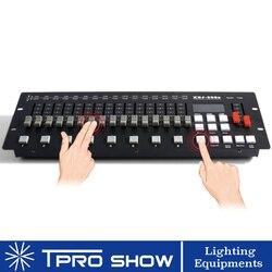 Kontroler Dmx 256CH Dmx 512 etap konsoli światła sprzęt Dj dla wiązki lampa led z ruchomą głowicą lampa PAR kontroler DJ