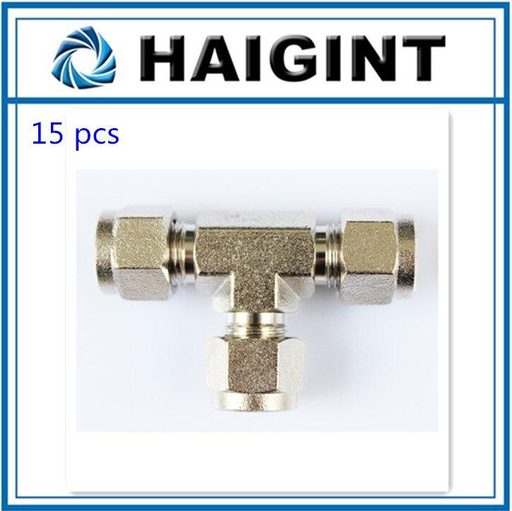 0136 Χαμηλού κόστους θερμοκηπίου HAIGINT 3/8 '(9,52 mm) βύσμα σύνδεσης υψηλής πίεσης για συνδέσεις υψηλής πίεσης
