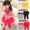 Crianças estabelecidos verão vestir manga Curta definir Crianças camiseta roupas terno + calça frete grátis
