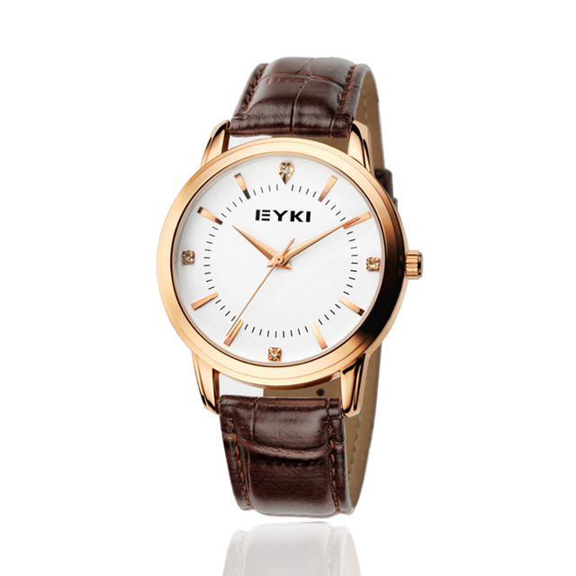 Eyki Mens Watches Luxury Casual Lovers' Quartz Wristwatch