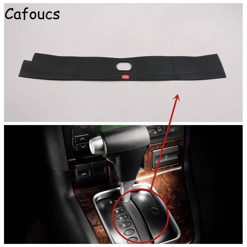 Cafoucs Car Gear Shift Knob Dustproof Cover for Ford Mondeo 2.0 2001-2007 Shift Gears Dust Proof Glue