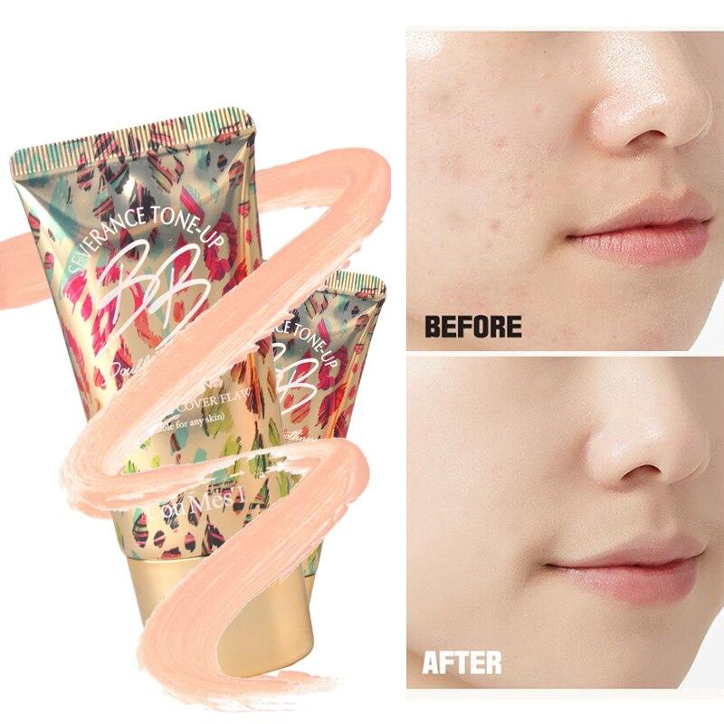 Loumesi BB Cream Perfect Cover BB Cream Korean Cosmetics  Face Base Make Up Makeup Foundation Concealer Facial Moist BB Cream