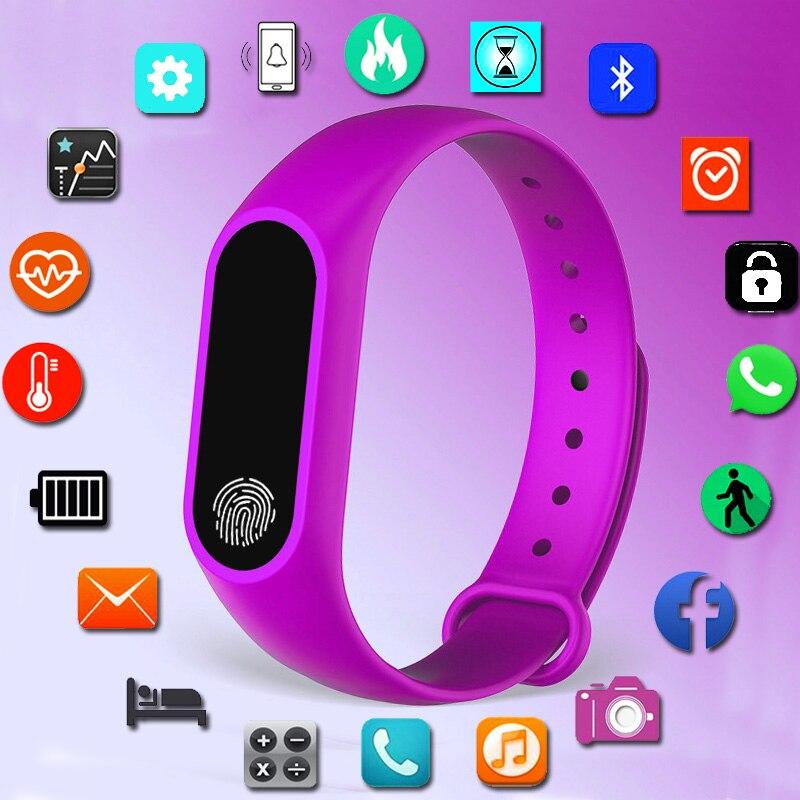 Pulseira de Relógio Digital de esporte Relógio Das Mulheres Relógios Senhoras relógios Para As Mulheres Senhoras Horas Presentes Para Android IOS inteligente intelig