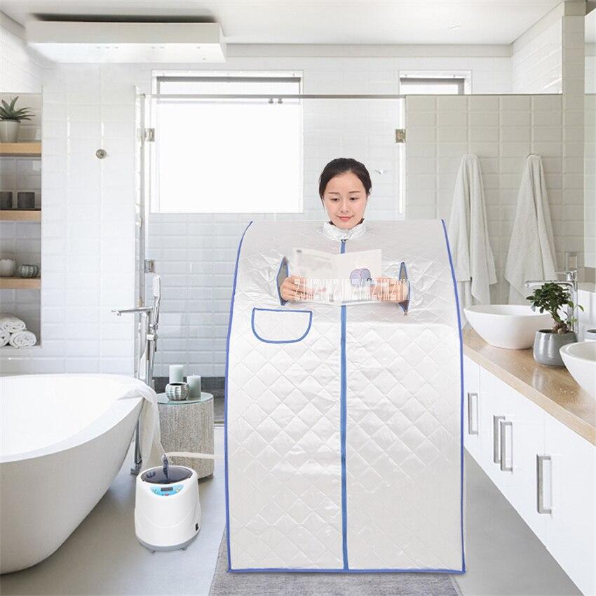 TW-PS12NEW18J Steaming Box Steam Sauna Tent High-quality Indoor Folding Sauna Box Sweating Fumigation Machine 110V/220V 1000W 2L
