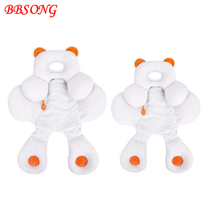 BBSONG Cotton Baby Stroller Cushion Fashion Baby Diaper Pad Soft Mattress Pushchair Pram Stroller Accessories Toddler Seat Mat