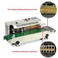 Selador de banda contínua da tinta do saco plástico  máquina automática de vedação do filme  máquina de selagem