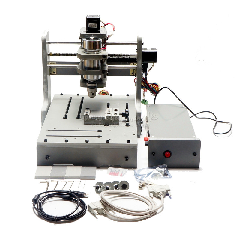 DIY mini CNC Router Engraving machine mini 3020 CNC milling machine free tax to russia free tax to russia desktop cnc milling machine 3040t dj router engraving drilling lathe