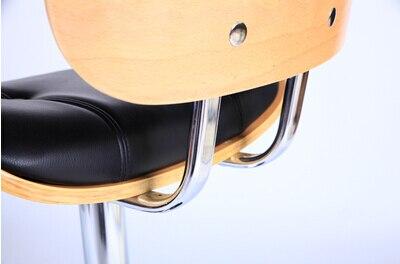 European fashion bar in legno massello sedia presso la reception