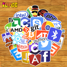 Programming Language Internet Java JS Php Html Cloud Docker Bitcoin Logo Cool Stickers for Laptop Car DIY Stickers js easy php page 4