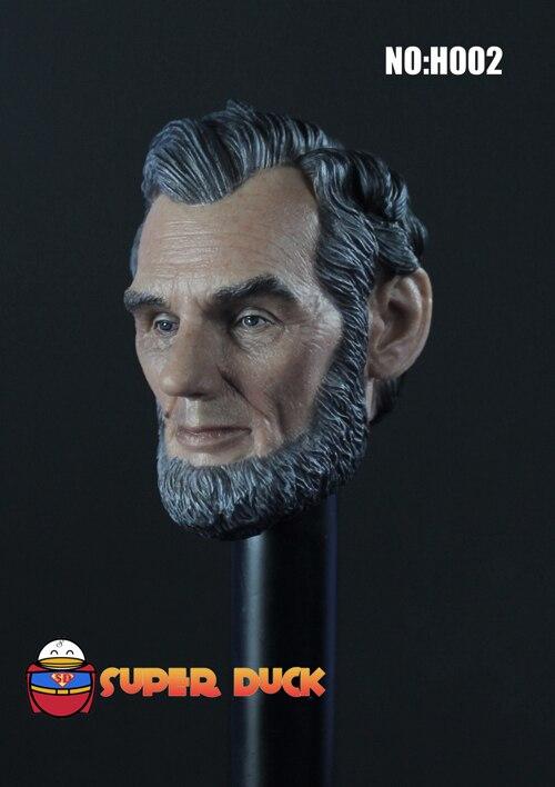 H002-1//6 Head Sculpt Super Duck The President