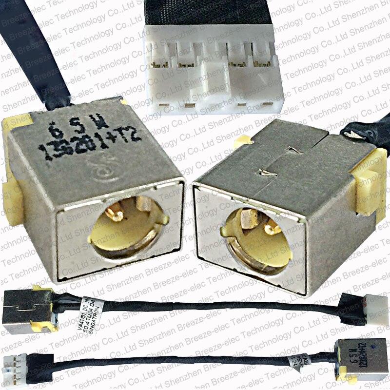 GENUINE AC DC POWER JACK socket cable wire for Acer Aspire V5 Touch V5-471 V5-471P-6467 V5-431 V5-571P V5-571P-6866 50.4TU04.042