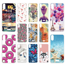 Case SFor Wiko Y80 Cases Silicon DIY Painted Phone Coque For Wiko Y80 Y 80 5.99 inch Cover Bumper Soft TPU Back Shell Skin Capa