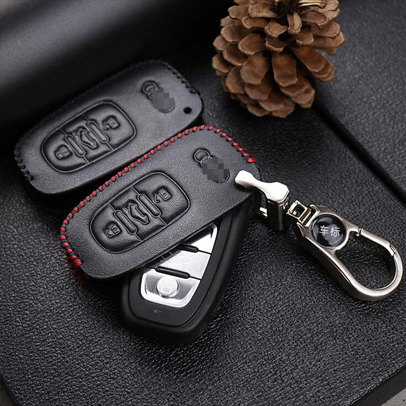 ZHIHUI car key case covers for Audi A1 A3 A4 A4l A5 A6 A6L A7 A8 Q3 Q5 Q7 S and RS series car accessories