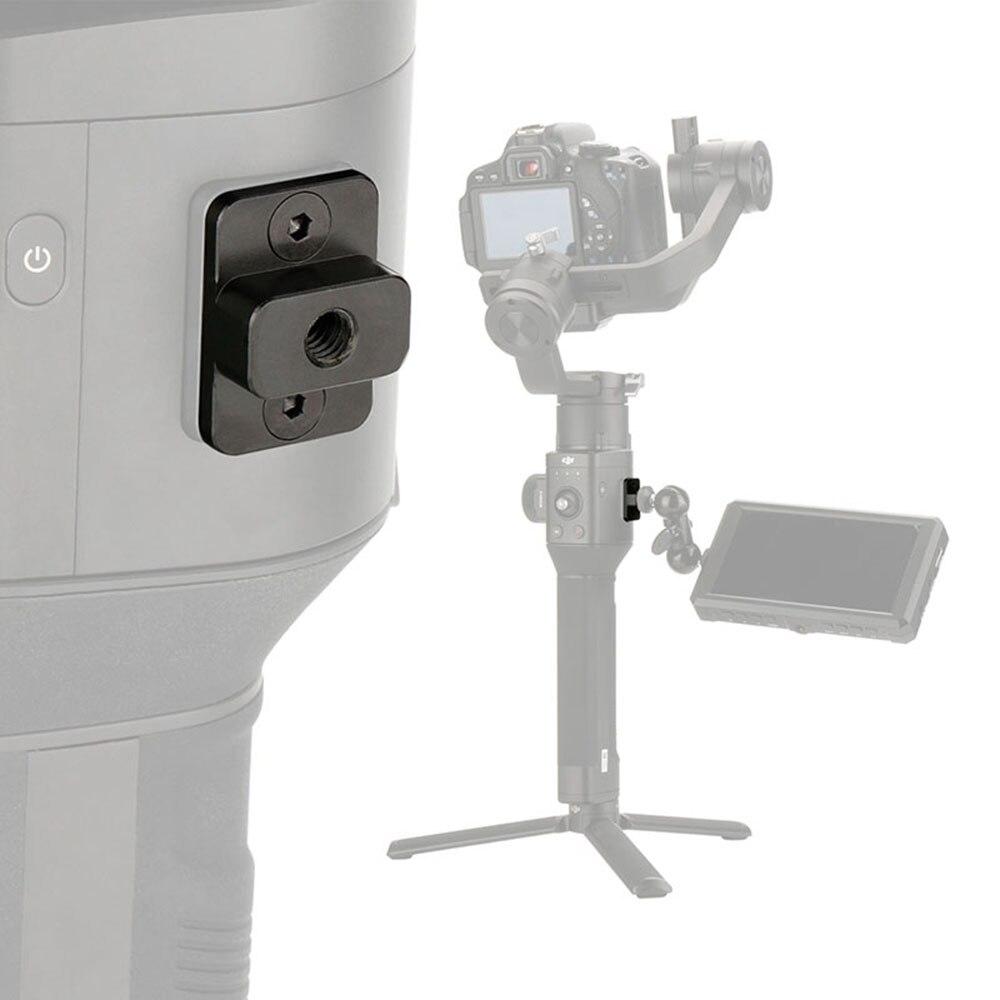 Remplacer Vidéo Moniteur De Montage Plaque de Montage pour Dji Ronin S M4 à 1/4 Vis Adaptateur Prolongez Le Port pour Moniteur Magique bras VS SmallRig