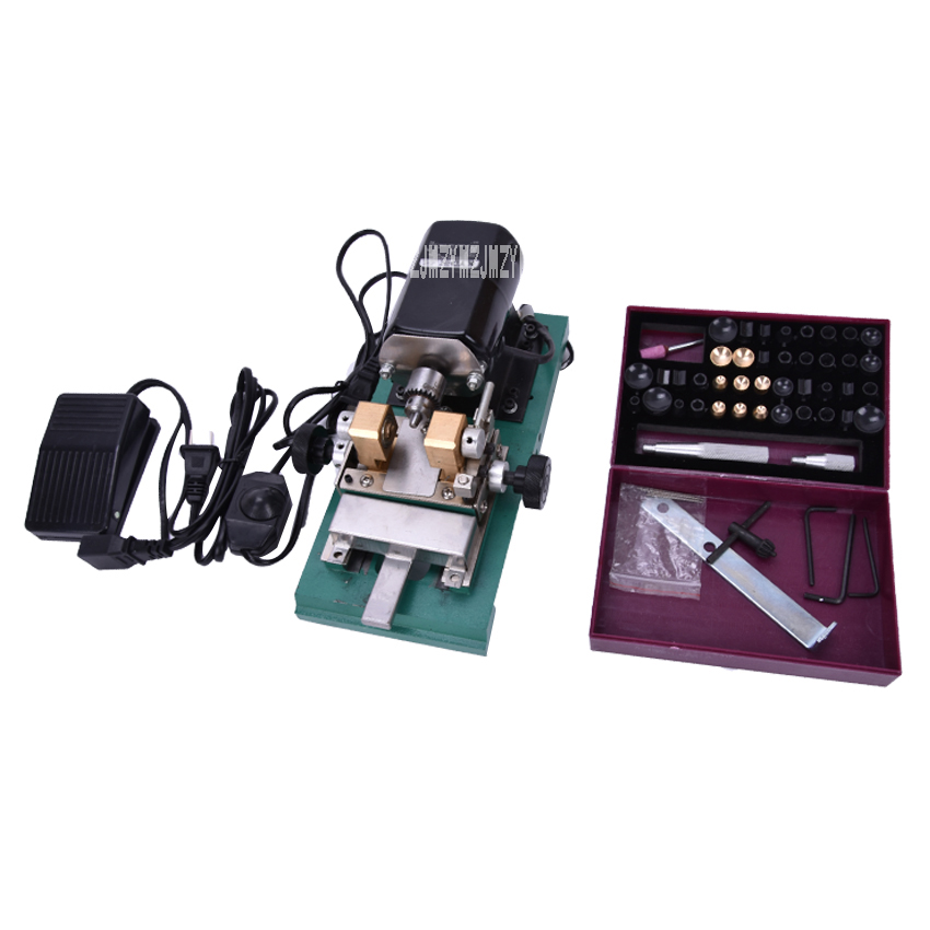 1 PC 180W/240W Mini Pearl Bead Drilling Machine, Amber Holing Machine, Jewelry Drill Tool & Equipment Set mini electric drilling machine variable speed micro drill press grinder pearl drilling diy jewelry drill machines 5168e