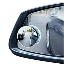 Auto Wide Angle Adjustable Car Rear View Camera Convex Mirror Blind Spot RearView Rimless Mirrors