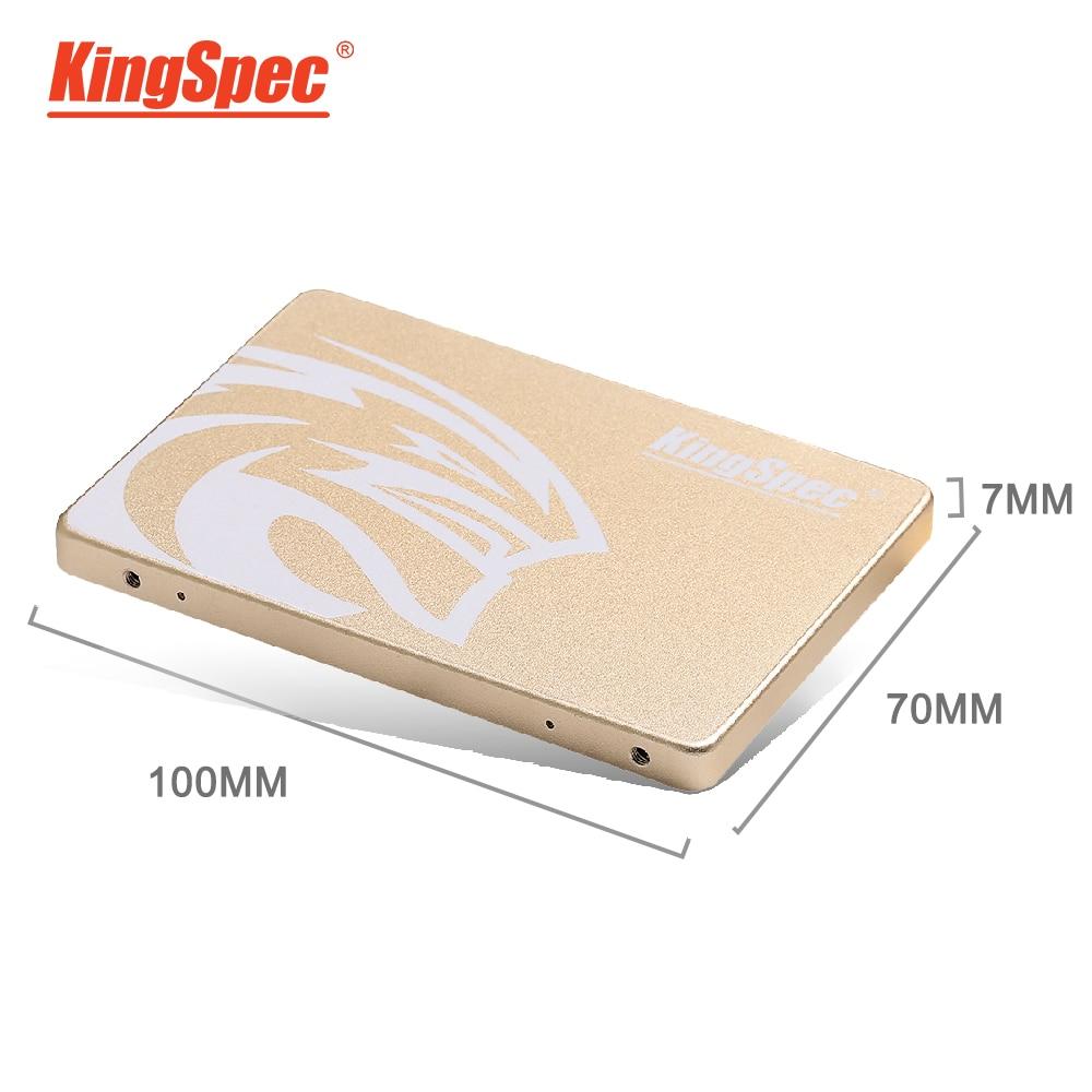 KingSpec SSD 1 to 2 to HDD 2.5 pouces SATAIII disque dur solide HD SSD 500GB 512GB Disco interne pour ordinateur portable ordinateur de bureau PC