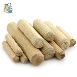 M6/M8/M10*L mm Wooden Dowel Cabinet Drawer Round Fluted Wood Craft Dowel Pins Rods Set Furniture Fitting wooden dowel pin(China)