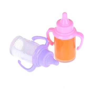 1 sztuk Dummy smoczek losowe magnetyczne smoczki butelka do karmienia zabawki dla niemowląt Reborn lalki dla dzieci lalki noworodki akcesoria tanie i dobre opinie KittenBaby Z tworzywa sztucznego CN (pochodzenie) Unisex Pochodną produkt no eat Akcesoria dla lalek