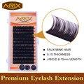 Wholesale 4packs Eyelash Extension All Size 8-15mm length 0.15 False Mink Hair Individual Silk Lash