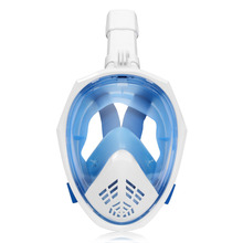 YaHey Diving Masks Full Face Snorkeling Mask Anti fog Snorkel Set 2018 Swimming Buoy Scuba Dive Underwater Equipment For GoPro цены онлайн