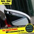 AUTO-CLUD Para Toyota Carmy espejo Retrovisor lluvia ceja coche que labra 2012-15 espejo retrovisor lluvia ceja ropa de lluvia