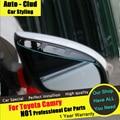 AUTO-CLUD Para Toyota Carmy espelho Retrovisor chuva sobrancelha carro styling 2012-15 espelho retrovisor chuva sobrancelha capa de chuva