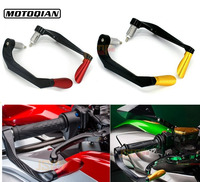 Universal Adjustable Motorcycle 7 8 22mm Brake Clutch Levers Handle Bar Protectors Guard For Suzuki DL650