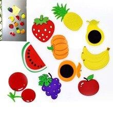 5/10 шт. магнит на холодильник Декор фруктовая наклейка магниты на холодильник с рисунком героев из мультфильмов детская футболка магниты домашнее украшение доска объявлений магнита