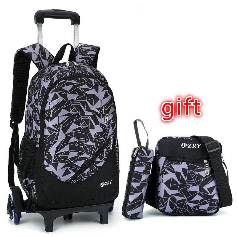 Removable Kids Backpack Trolley School Bags With Wheel Stair Children Backpack Schoolbags kids Book Bag For boys girls MochilasRemovable Kids Backpack Trolley School Bags With Wheel Stair Children Backpack Schoolbags kids Book Bag For boys girls Mochilas