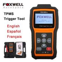 Universal FOXWELL NT1001 Decodificador Herramienta de Disparo Auto Tire Pressure Monitoring System TPMS de Diagnóstico Escáner Actualización Gratuita
