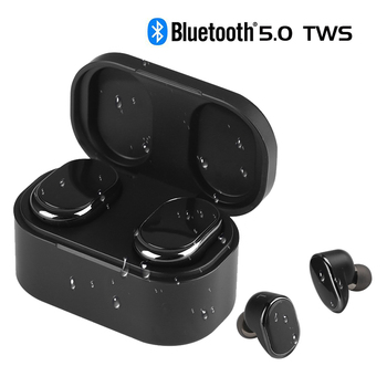 TWS Wireless Headsets Bluetooth 5.0 Earphones Stereo In-Ear Earphones with Charging Box Handsfree Gaming Sports Earbuds
