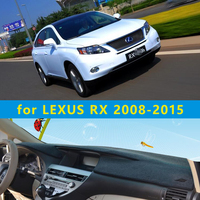 car dashmats car styling accessories dashboard cover for lexus rx350 rx270 rx300 rx450h 2008 2009 2010 2012 2013 2014 2015