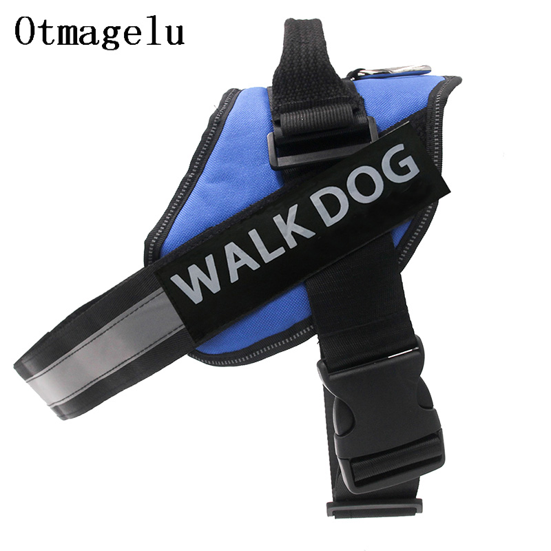 Dog Harness Breathable Pet Harness Vest Dog Collars for Small Medium Big Dog Nylon Dog Lead Belt Pitbull Bull Terrier Rottweiler4
