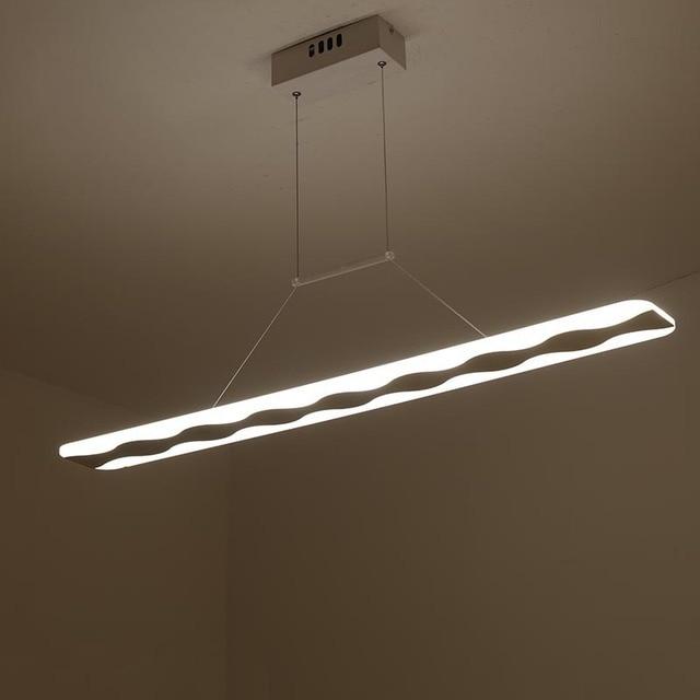 Modern LED Outdoor Pendant Lights for Kitchen Dining White Pendant ...