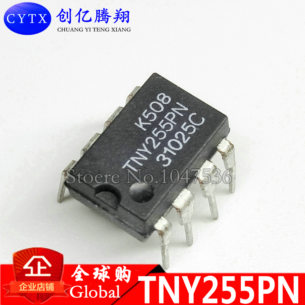 TNY255PN DIP8 TNY255P DIP TNY255 new and original IC 10pcs/lot Brand new authentic spot, can be purchased directly